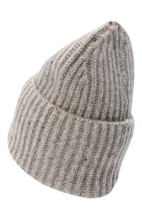 Женский шапка из шерсти и шелка TAK.ORI серого цвета, арт. HTK70005WS025AW20 | Фото 2