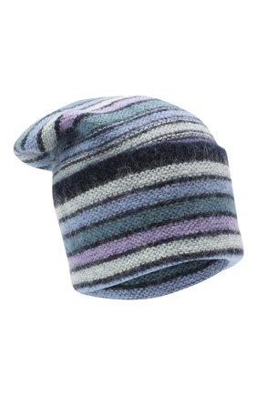 Женская шапка TAK.ORI голубого цвета, арт. HTK70007MA050AW20 | Фото 1