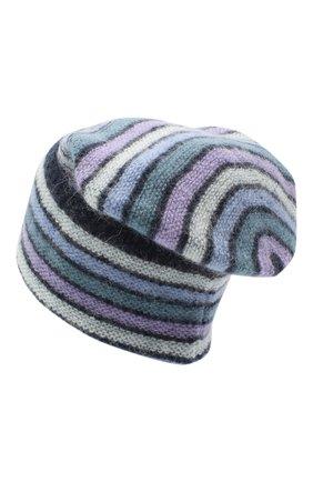 Женская шапка TAK.ORI голубого цвета, арт. HTK70007MA050AW20 | Фото 2