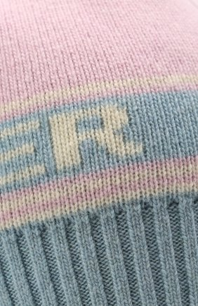 Женская шапка из шерсти и кашемира TAK.ORI розового цвета, арт. HTK72062WC030AW20 | Фото 3 (Материал: Кашемир, Шерсть)