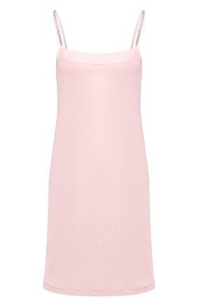 Женская платье из вискозы LA PERLA светло-розового цвета, арт. 0052790   Фото 1