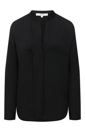 Женская шелковая блузка VINCE черного цвета, арт. V674312338 | Фото 1