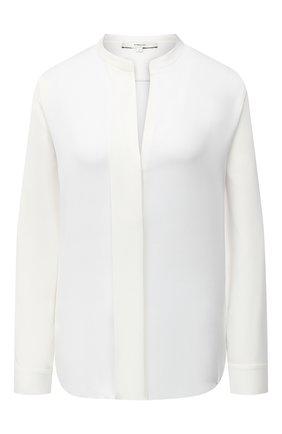 Женская шелковая блузка VINCE белого цвета, арт. V674312338 | Фото 1