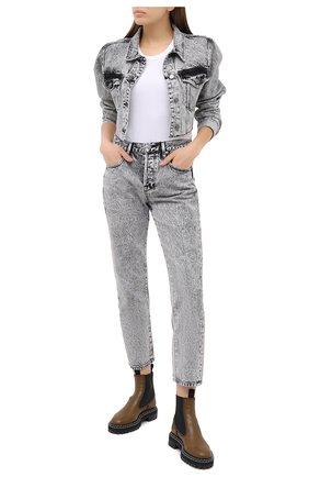Женские джинсы FRAME DENIM серого цвета, арт. L0J252/A | Фото 2