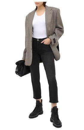 Женские джинсы FRAME DENIM серого цвета, арт. LNS795 | Фото 2
