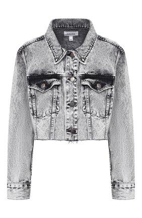 Женская джинсовая куртка FRAME DENIM серого цвета, арт. UCJK252 | Фото 1