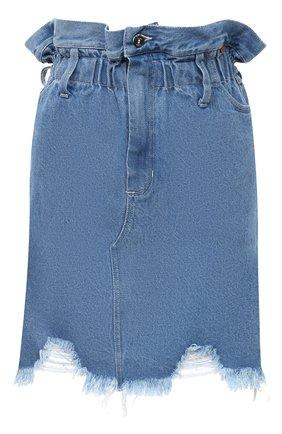 Женская джинсовая юбка RUBAN голубого цвета, арт. RSO20-5.1.410.7. | Фото 1