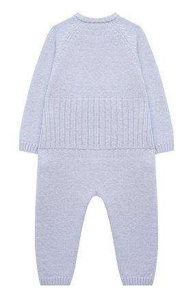 Детский шерстяной комбинезон BABY T голубого цвета, арт. 20AI061T/18M-3A | Фото 2