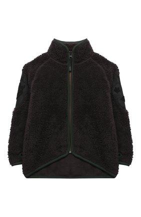 Детского куртка ulan MOLO темно-коричневого цвета, арт. 5W20L205 | Фото 1
