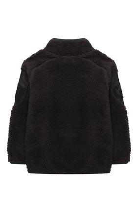 Детского куртка ulan MOLO темно-коричневого цвета, арт. 5W20L205 | Фото 2