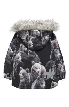 Детская куртка hopla fur MOLO разноцветного цвета, арт. 5W20M304 | Фото 2