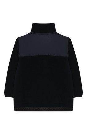 Детского куртка urbain MOLO темно-синего цвета, арт. 5W20L202   Фото 2 (Рукава: Длинные; Ростовка одежда: 4 года   104 см, 5 лет   110 см, 6 лет   116 см, 7 лет   122 см, 8 лет   128 см, 10 - 11 лет   140 - 146см)
