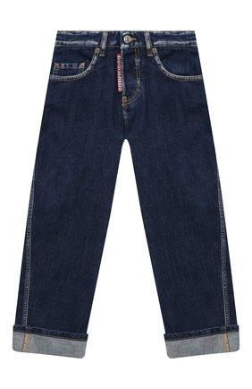 Детские джинсы DSQUARED2 синего цвета, арт. DQ04B1-D001U   Фото 1