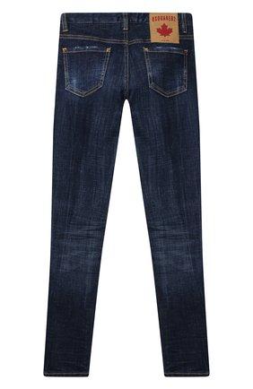 Детские джинсы DSQUARED2 синего цвета, арт. DQ01DX-D001V   Фото 2