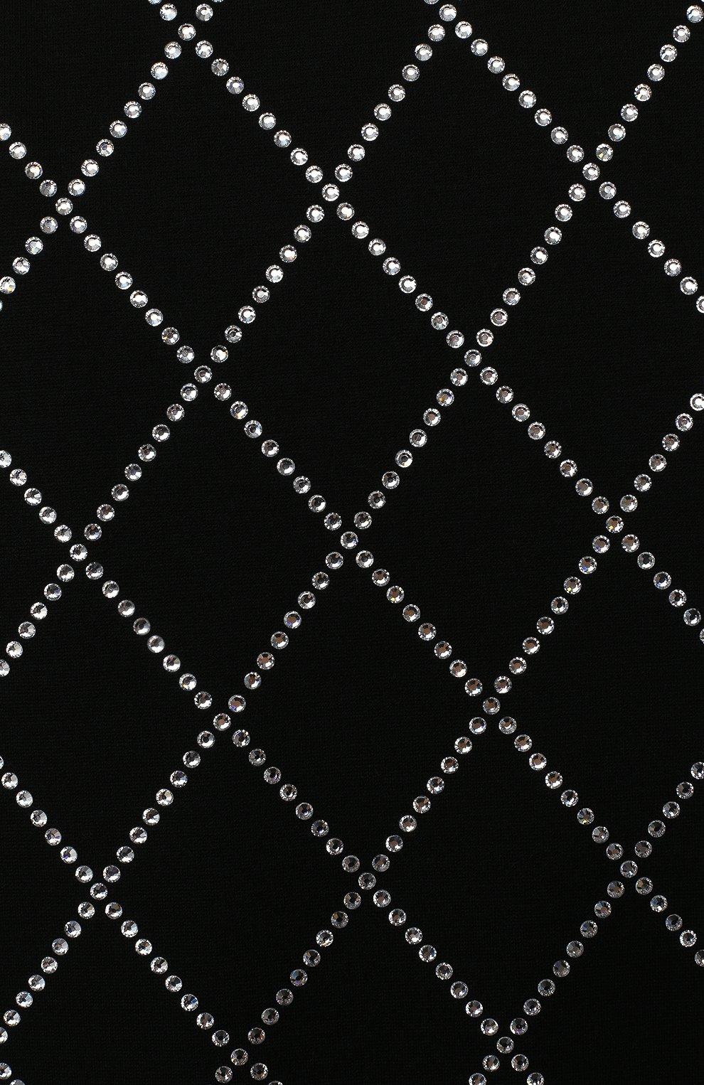 Детское платье BALMAIN черного цвета, арт. 6N1151/NC660/4-10 | Фото 3 (Рукава: Короткие; Случай: Повседневный; Материал внешний: Лиоцелл; Девочки Кросс-КТ: Платье-одежда)