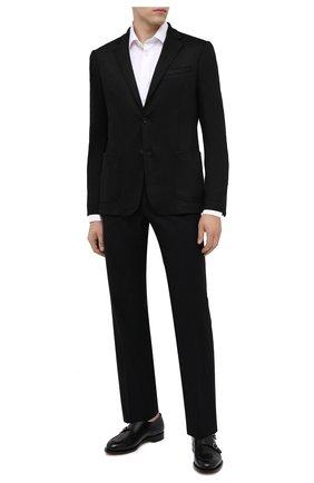 Мужской шерстяной пиджак Z ZEGNA черного цвета, арт. 877750/1V9SG0 | Фото 2