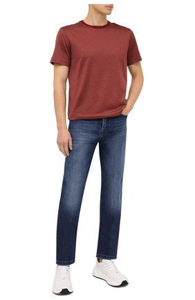 Мужские джинсы KITON темно-синего цвета, арт. UPNJS1/J02T60 | Фото 2