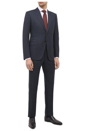 Мужские кожаные оксфорды BERLUTI темно-серого цвета, арт. S5136-002 | Фото 2