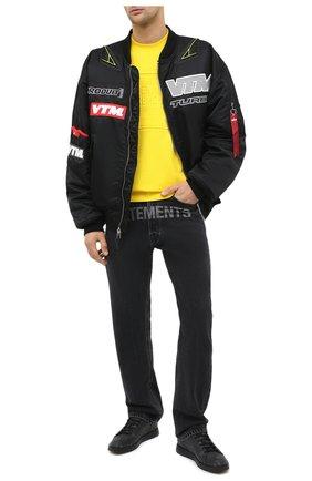 Мужские кеды BERLUTI черного цвета, арт. S5228-001 | Фото 2 (Материал внешний: Текстиль, Экокожа; Материал внутренний: Натуральная кожа; Подошва: Плоская)