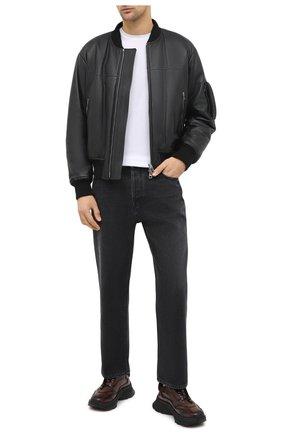 Мужские кожаные кроссовки BERLUTI темно-коричневого цвета, арт. S5223-007 | Фото 2