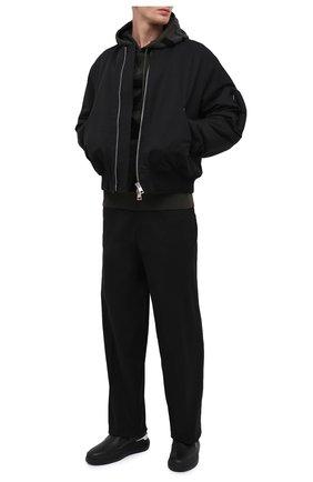 Мужские кожаные слипоны conley zip GIUSEPPE ZANOTTI DESIGN черного цвета, арт. EU00063/004 | Фото 2