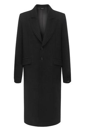 Мужской шерстяное пальто ISABEL BENENATO темно-серого цвета, арт. UW01F20 | Фото 1