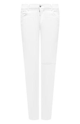 Мужские джинсы AMIRI белого цвета, арт. F0M01101SD | Фото 1
