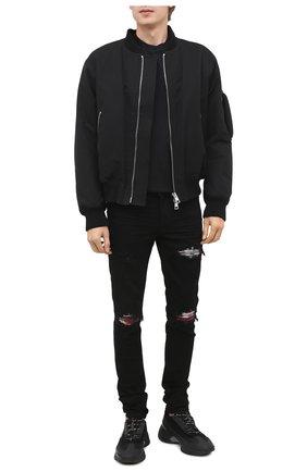 Мужские джинсы AMIRI черного цвета, арт. F0M01157SD | Фото 2