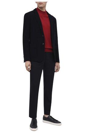 Мужской брюки BOGNER темно-синего цвета, арт. 18383337 | Фото 2
