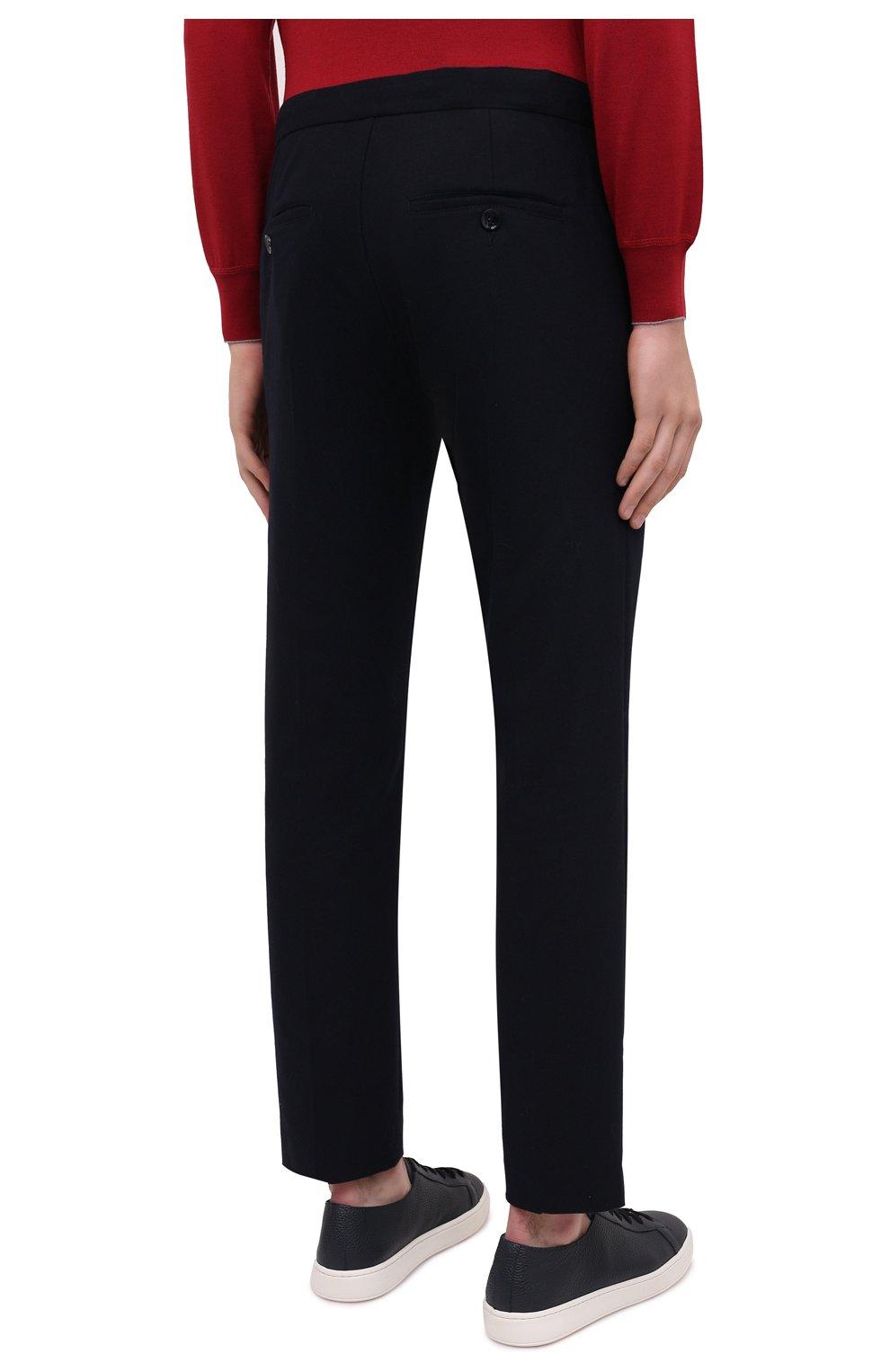 Мужские брюки BOGNER темно-синего цвета, арт. 18383337   Фото 4