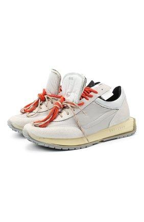 Мужские комбинированные кроссовки RBRSL белого цвета, арт. 7Y2264U.V79TY1T483 | Фото 1