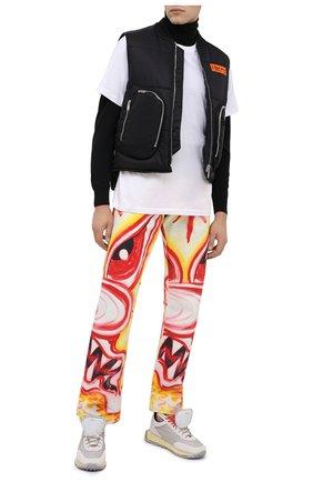 Мужские комбинированные кроссовки RBRSL белого цвета, арт. 7Y2264U.V79TY1T483 | Фото 2