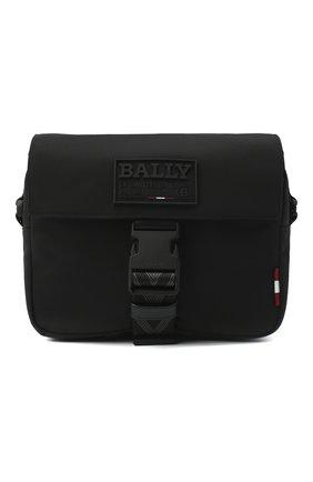 Мужская текстильная сумка reenzo BALLY черного цвета, арт. REENZ0/00   Фото 1