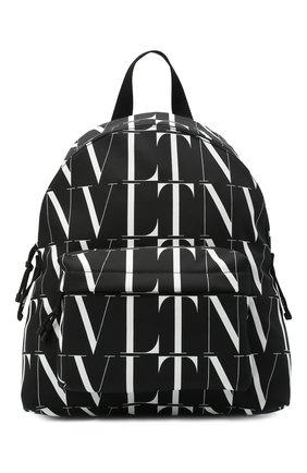 Мужской текстильный рюкзак valentino garavani VALENTINO черно-белого цвета, арт. UY0B0993/HWP | Фото 1
