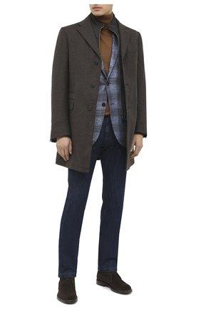 Мужской шерстяное пальто CORNELIANI коричневого цвета, арт. 861590-0812400/00 | Фото 2