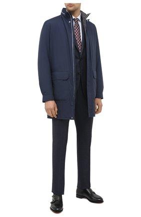 Мужской шерстяной костюм CORNELIANI синего цвета, арт. 867268-0817267/92 Q1 | Фото 1