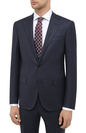 Мужской шерстяной костюм CORNELIANI синего цвета, арт. 867268-0817267/92 Q1 | Фото 2