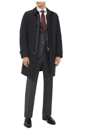 Мужской пиджак из шерсти и кашемира CORNELIANI темно-серого цвета, арт. 86XY76-0816260/90   Фото 2