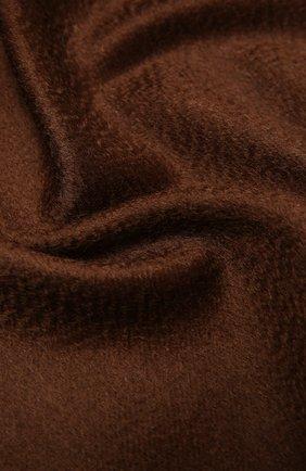 Мужской кашемировый шарф ERMENEGILDO ZEGNA коричневого цвета, арт. Z8L40/26N | Фото 2