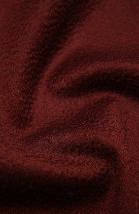 Мужской кашемировый шарф ERMENEGILDO ZEGNA бордового цвета, арт. Z8L40/26N | Фото 2