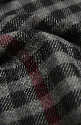 Мужской шарф из шерсти и кашемира ERMENEGILDO ZEGNA серого цвета, арт. Z8L05/28B | Фото 2