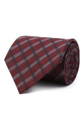 Мужской шелковый галстук ERMENEGILDO ZEGNA красного цвета, арт. Z8D33/1XW | Фото 1