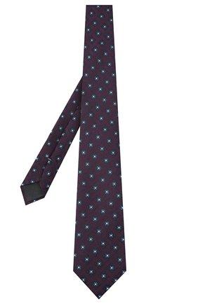 Мужской галстук из шелка и шерсти ERMENEGILDO ZEGNA фиолетового цвета, арт. Z8E31/18H | Фото 2