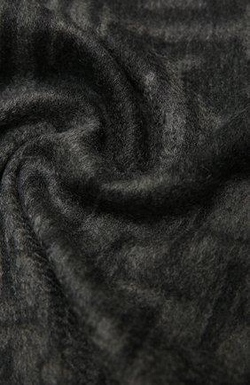Мужской кашемировый шарф KITON серого цвета, арт. USCIACX03T01 | Фото 2