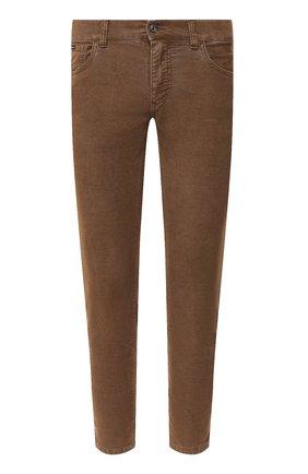Мужские джинсы DOLCE & GABBANA коричневого цвета, арт. GYD2LT/G8CX1 | Фото 1