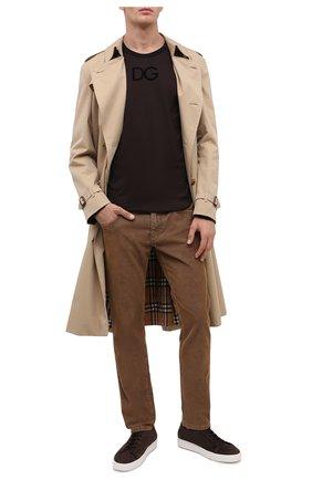 Мужские джинсы DOLCE & GABBANA коричневого цвета, арт. GYD2LT/G8CX1 | Фото 2