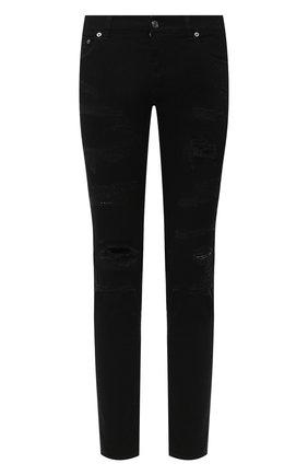 Мужские джинсы DOLCE & GABBANA черного цвета, арт. GY07LD/G8DA9 | Фото 1