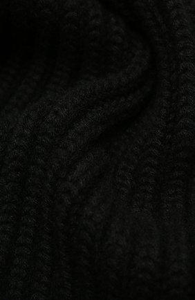 Мужской кашемировый шарф DOLCE & GABBANA черного цвета, арт. GXC78T/JAW5K | Фото 2