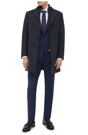Мужской шерстяной костюм DOLCE & GABBANA синего цвета, арт. GK0EMT/FU21U | Фото 1