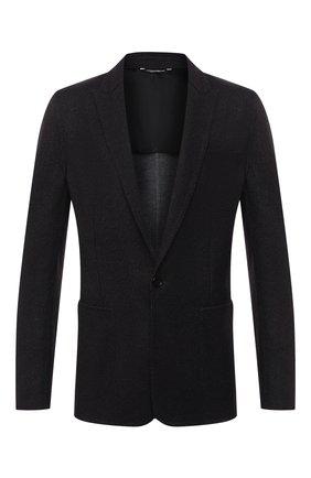 Мужской шерстяной пиджак DOLCE & GABBANA темно-серого цвета, арт. G20W9T/FU79T   Фото 1
